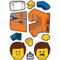 Lego the Movie 2 Emmet Sticker 22x30cm