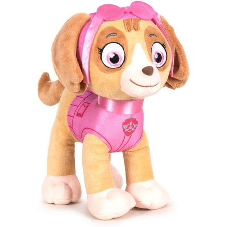 Paw Patrol Pluche Paw Patrol knuffel Skye - Classic New Style - 27 cm - Cartoon knuffels - Speelgoed voor kinderen