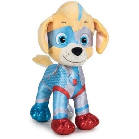 Paw Patrol Pluche Paw Patrol knuffel Tuck - Mighty Pups Super Paws - 30cm - Cartoon knuffels - Speelgoed voor kinderen