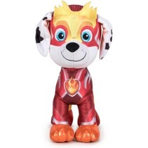 Paw Patrol knuffel Marshall Mighty Pups Super Paws 27cm