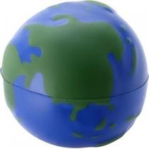 1x stuks Stressballen globe/wereldbol/de aarde 6.7 cm - Save the planet artikelen