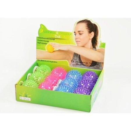 Banzaa Wellness en Massagebal – Puntige Massage – Triggerpoints – Lacrossebal – Blauw