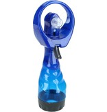 Banzaa Draagbare Spray Handventilator inclusief Waterreservoir | Verkoeling | Ventilatoren | Blauw
