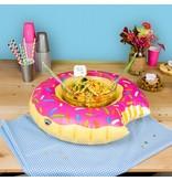 Bigmouth Bigmouth Opblaasbare Serveerring Donut 51x43x13cm