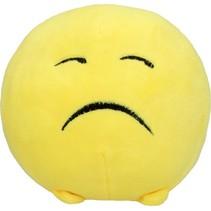 Toyworld Emoji Pluchen Knuffel Verdrietig 12cm