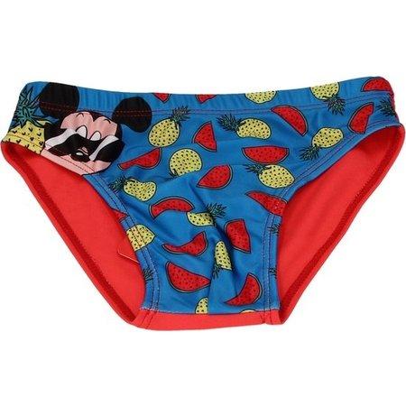 Disney Mickey Mouse Zwembroek voor Kinderen – Maat 104-110 Rood | Kinderzwemkleding | Zwemshort | Zwemkleren voor Jongens