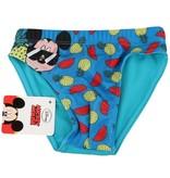 Banzaa Mickey Mouse Zwembroek voor Kinderen – Maat 104-110 Blauw   Kinderzwemkleding   Zwemshort   Zwemkleren voor Jongens