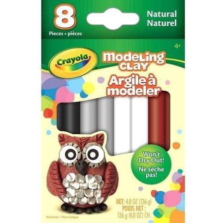 Crayola Crayola Boetseerklei - Neutrale Kleuren