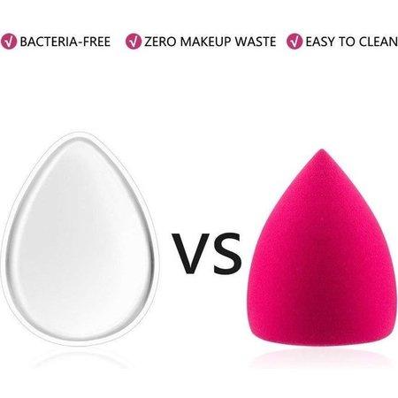 Beauty Essentials Beauty Essentials 3-delige Make-up Sponsen Set met Verschillende Sponsen – 3 Stuks