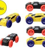 Nerf NERF Nitro – 6 stuks – Schuim Auto's Geschikt voor de Nerf Nitro Longshot Smash – Schietspeelgoed