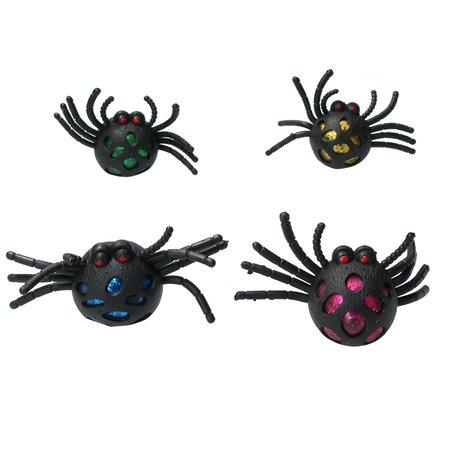 Banzaa Orbeez Glitter Stressbal Spin voor kinderen – Squishy – Zwart