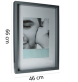 Present Time Pt, Fotolijst XXL 66x46cm - Grijs