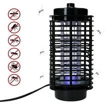 Alma Garden Anti Insecten Lamp XXL – Muggenlamp 22cm– Vliegenlamp – Zwart
