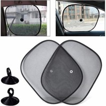 Zonwering / Zonnescherm Auto   UV Protectie   2 Stuks Autozonwering Voor Autoraam / Zijruit