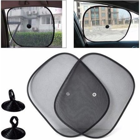 Banzaa Zonwering / Zonnescherm Auto | UV Protectie | 2 Stuks Autozonwering Voor Autoraam / Zijruit