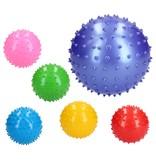 Banzaa BDO Massagebal Educatief Stevig – 15cm – Ideaal voor Binnen –– Speelbal Klein Formaat – Geel