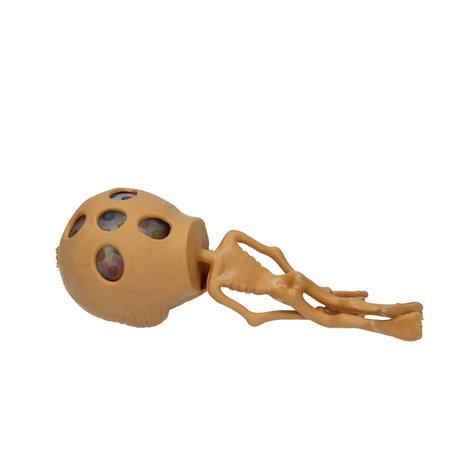 Banzaa Orbeez Stressbal Alien voor Kinderen – Stress Speelgoed – Squishy – Bruin