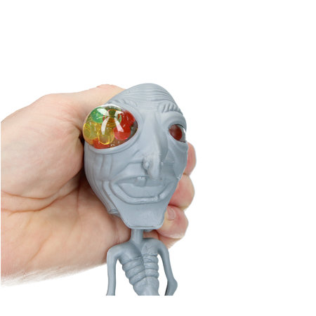 Banzaa Orbeez Stressbal Alien voor Kinderen – Stress Speelgoed – Squishy – Grijs