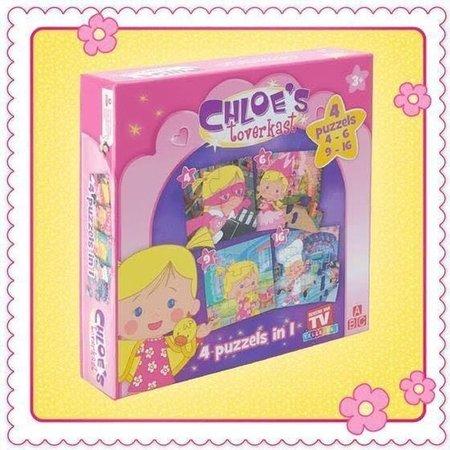 Telekids Chloe's 4 puzzels in 1