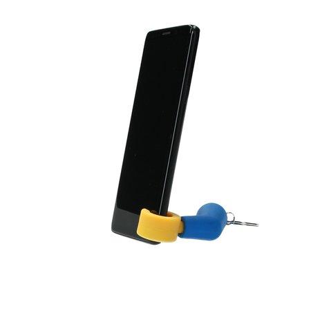 Present Time Present Time Telefoonhouder Robot Arm 2 Stuks – Standaard voor je Telefoon – Bureauhouder Mobiel – Blauw