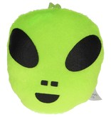 Banzaa Pluchen Sleutelhanger Alien Multicolor Set van 4 Stuks – 9x8x2cm | Ook Mooi als Autohangers of Raamhangers