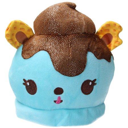 Num Noms Num Noms Cup cake knuffel met geur 20cm Blauw