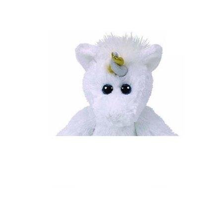 Ty Knuffels TY Unicorn met glitter ogen Agnus - 20 cm