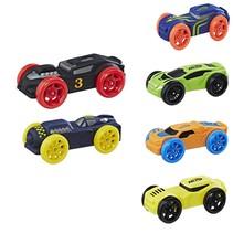 NERF Nitro – 6 stuks – Schuim Auto's Geschikt voor de Nerf Nitro Longshot Smash – Schietspeelgoed