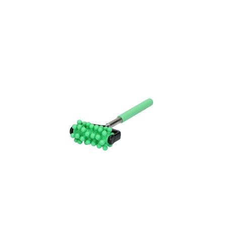 Banzaa Massage roller met Uitschuifbare Stick – Triggerpoint Massage – Groen