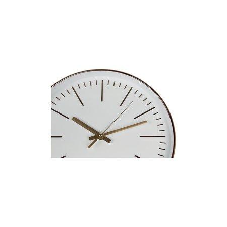 Banzaa Segnale Moderne Wandklok – 30x30x4cm – Rosegoud | Grote Klok voor aan de Muur | Analoge Klok