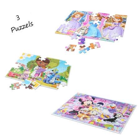 Clementoni Puzzels Disney - Smart kit 7 in 1