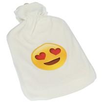 Warmwaterkruik met Zachte Overcoat Emoji Love