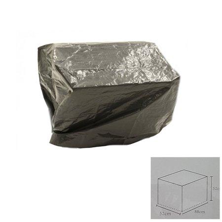 Banzaa Hoes voor Barbeque - Zwart - Vierkant - 88 x 52 x 52 cm