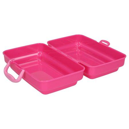 Lalaloopsy Lalaloopsy Broodtrommel voor Meisjes – Roze – 18x12x8cm | Lunchbox voor Kinderen | Lunchtrommel | Schoolartikelen