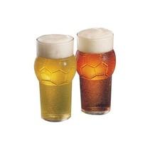 Drinkglazen Voetbalvorm 2 stuks – Bekers van Glaswerk