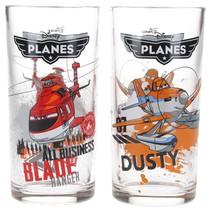 Disney Pixar Planes Drinkglazen set van twee glazen 250 ML