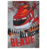 Banzaa Disney Pixar Planes Drinkglazen set van twee glazen Blade en Dusty 250 ML – 13x6cm | Kinderbekers | Glas om uit te Drinken