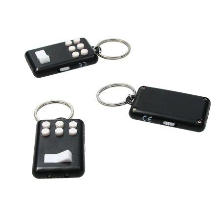 Banzaa Fidget pad Anti stress set 3 stuks Flip en Click Keylight Zwart-Wit