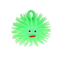 Puffer Stressbal Squishy Toy Vis 8cm Groen