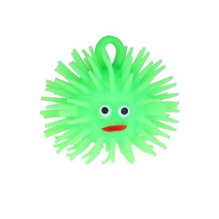 Banzaa Puffer Stressbal Squishy Toy Vis 8cm Groen