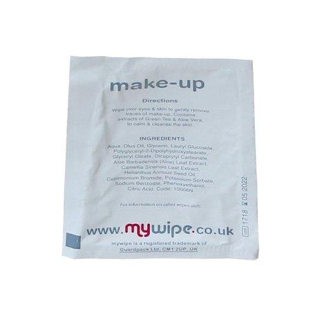 mywipe Make-up remover Oog en Make-up reinigingen doekjes Aloë Vera Set 4x10 stuks