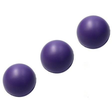 Banzaa Banzaa Stressbal set 3 stuks Medium Density 6cm Paars