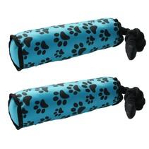 Honden speeltouw - flostouw - blauw 2 stuks