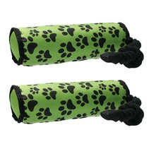 Honden speeltouw - flostouw - groen 2 stuks