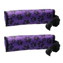 Honden speeltouw - flostouw - paars -2 stuks