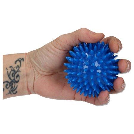 Banzaa Massageballen set van 3 – Hoge Dichtheid Massagestekels – Triggerpoint – Lacrossebal – Blauw