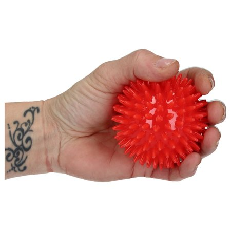 Banzaa Massageballen set van 3 – Hoge Dichtheid Massagestekels – Triggerpoint – Lacrossebal – Rood