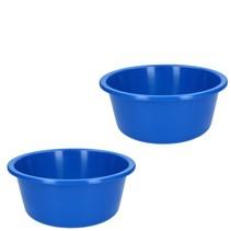 Afwasteil Rond 2 Stuks – 5 Liter – Blauw
