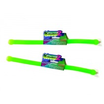 2 Glow in The Dark Stretch stick 2 Stuks Groen