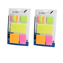 Notitieblokken Post Its - Neon - 16 stuks